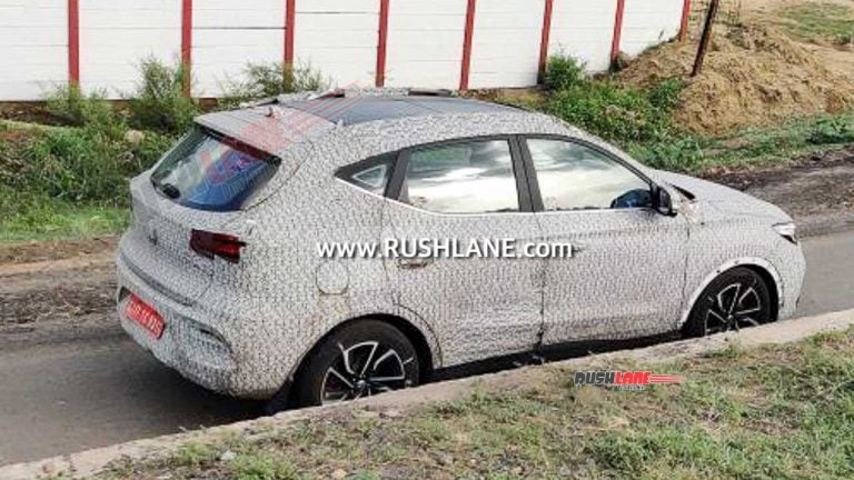 Creta-Rival MG Astor Mid-Size SUV Spotted Testing With Panoramic Sunroof!
