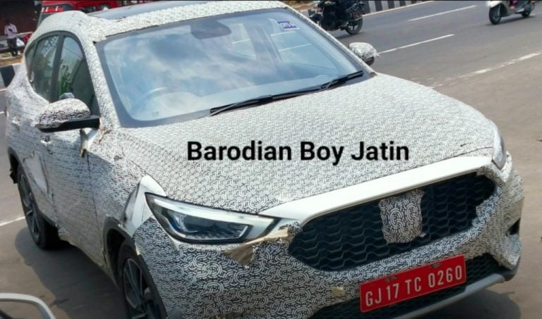 Creta-Rival MG ZS Petrol (Astor) Mid-Size SUV Spotted (Video) – What To Expect?