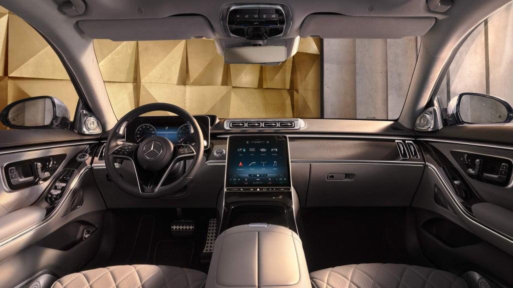 Mercedes-Benz S-Class Interiors
