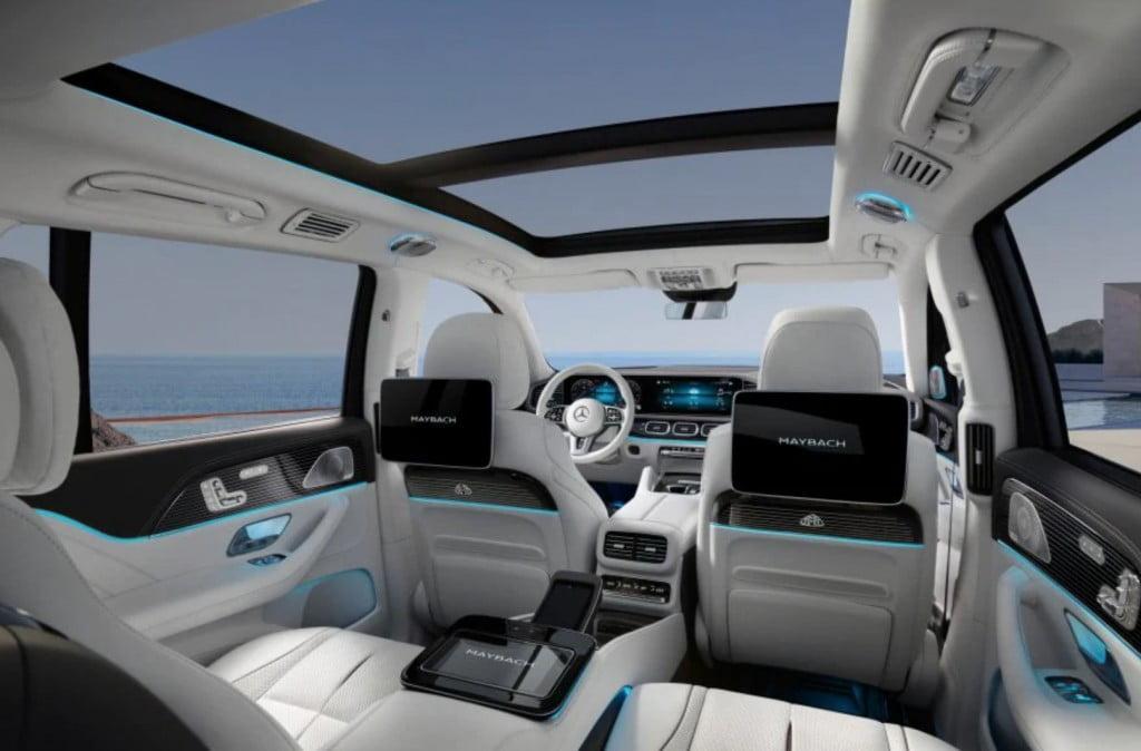 Mercedes Maybach GLS Interiors