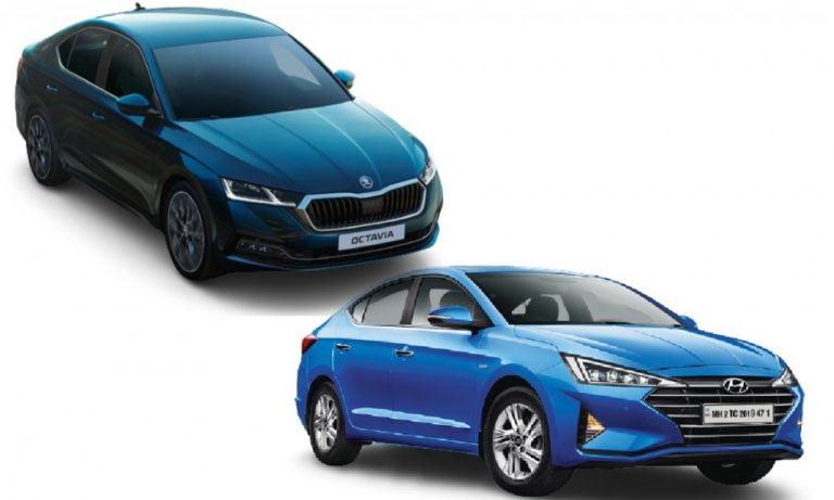 Skoda Octavia vs Hyundai Elantra – Engines, Prices, Specs, Features, Safety Comparison!