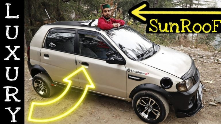 ONLY Maruti Alto In India With Electric Sunroof – VIDEO