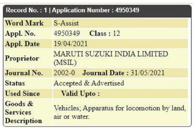 Maruti Follows Hyundai, Files Trademark For Clutchless Manual Gearbox