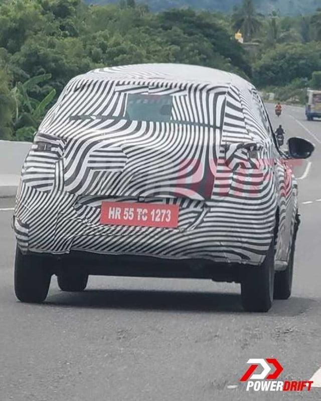 Citroen C3 Aircross (Kia Sonet-rival) Spied Yet Again!