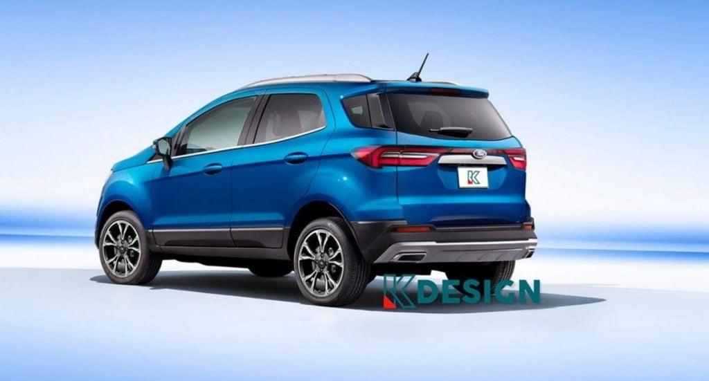 2021 Ford EcoSport Render