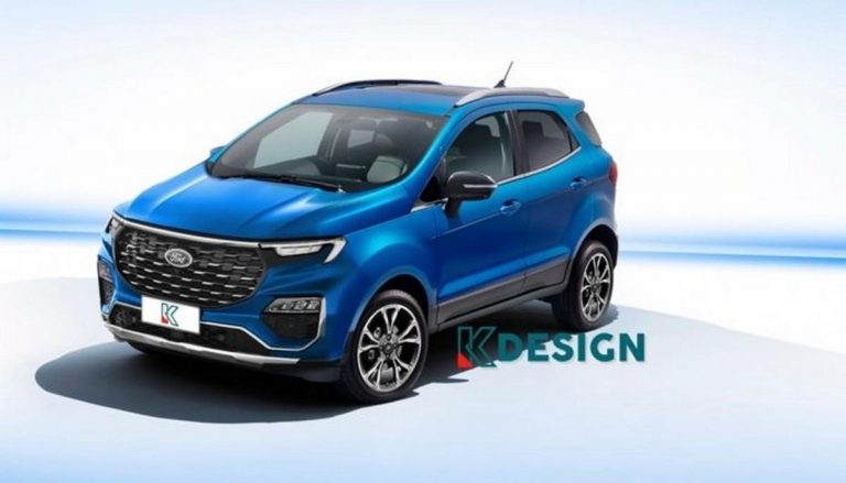 Do You Want 2021 Ford EcoSport Facelift To Look Like This?