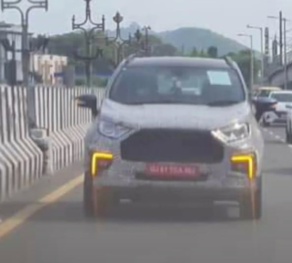 2021 Facelifted Ford EcoSport Spy