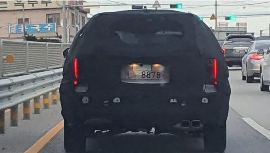 Hyundai Palisade Spy Images Exteriors