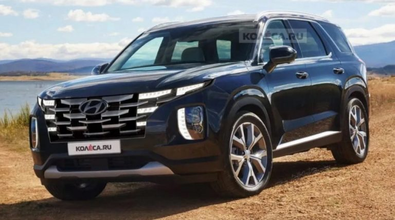 Is This What Hyundai Palisade Facelift Would Look Like?