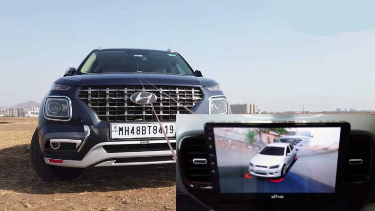WATCH- Hyundai Venue with 360-degree Camera & Google Support