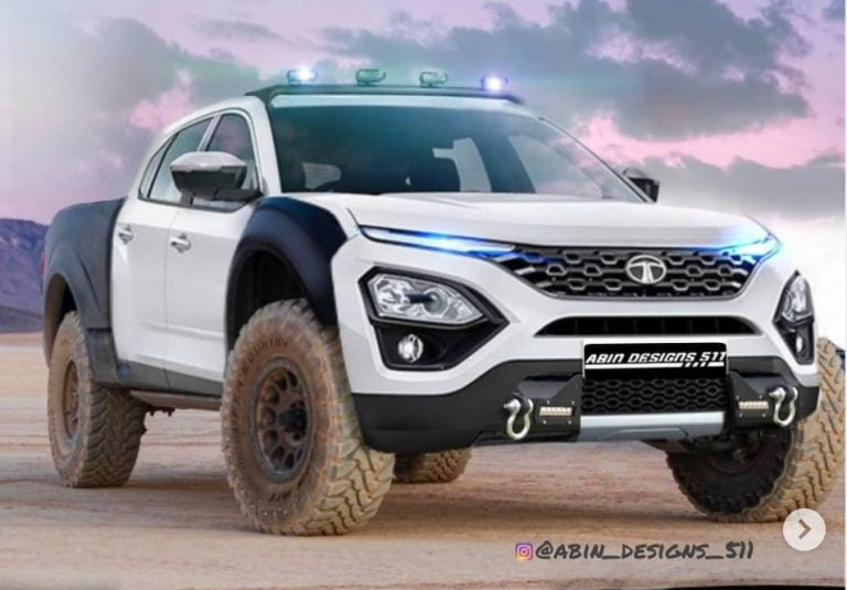 This Tata Harrier Pick Up Monster Truck Can Take You Anywhere!