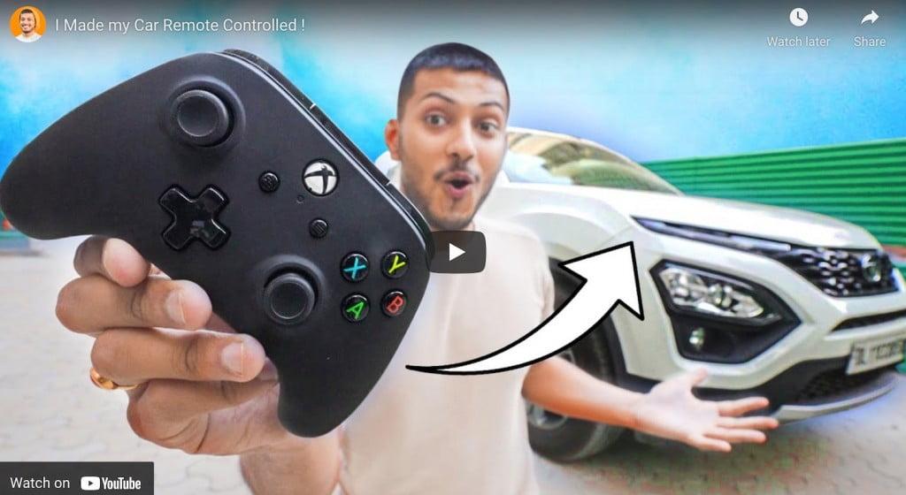 Tata Harrier Xbox Controller