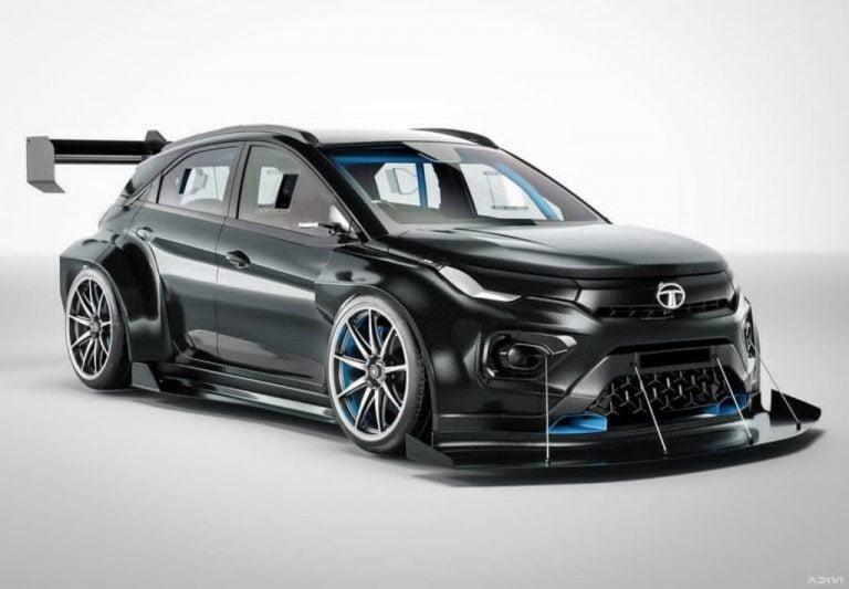 Tata Nexon EV Pikes Peak Concept Is A Hill Race Monster!