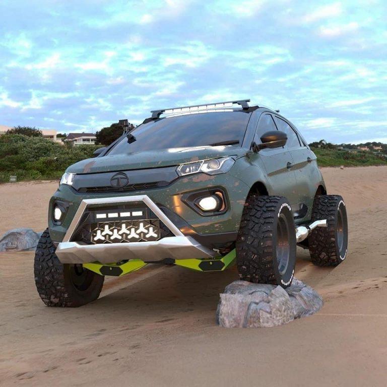 Here's The Most Badass Tata Nexon SUV Modification Ever!