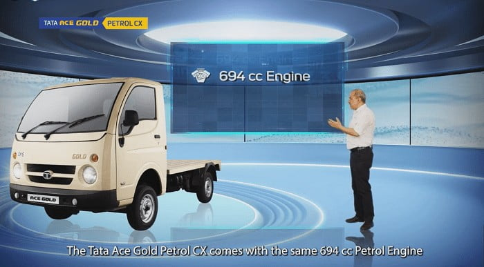 Tata Ace Gold Petrol CX Launched With Mileage Enhancing Features
