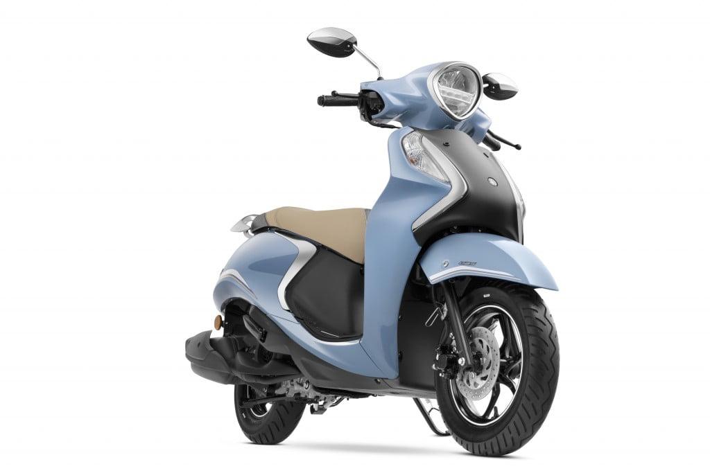 Yamaha Fascino 125 Hybrid Cool Blue Colour