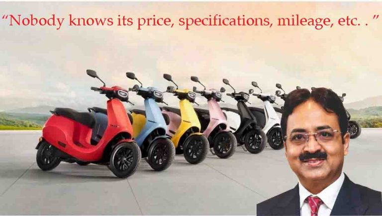 FADA President Clearly NOT IMPRESSED With Ola Electric Scooter