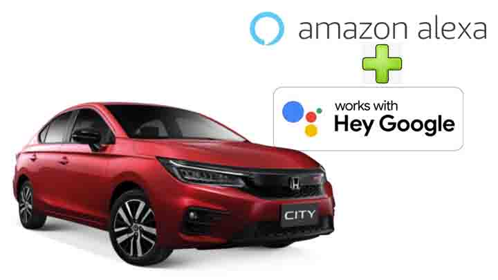 2021 Honda City Now Offers Both Alexa and Google Assistant