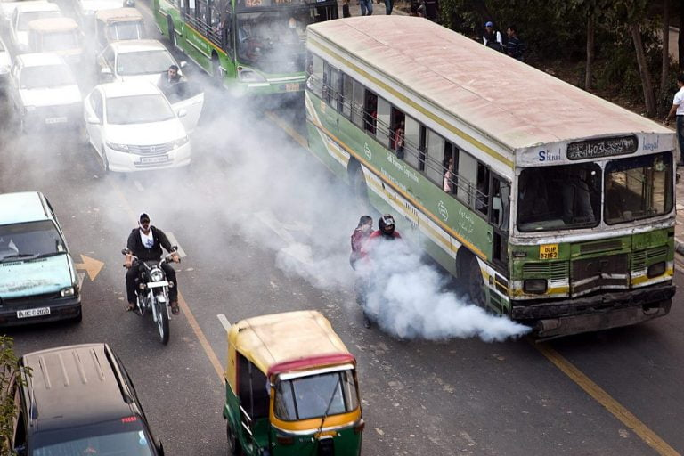 How to Reduce Vehicle Pollution in India?