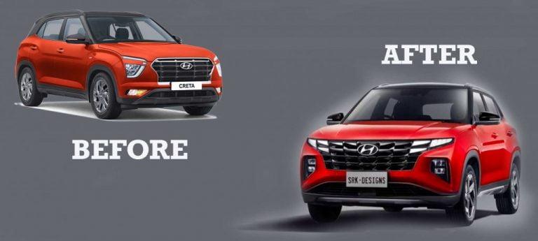 Hyundai Creta Facelift To Look Like This? – VIDEO