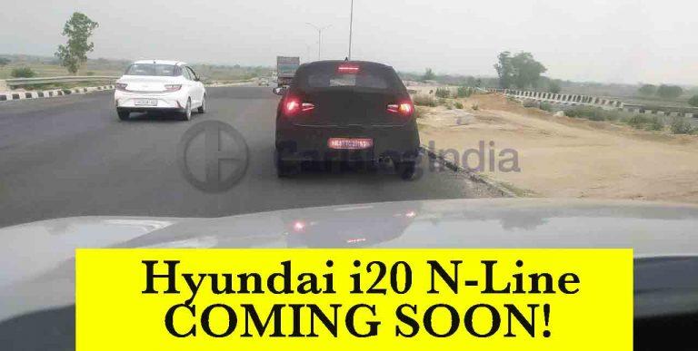 Hyundai i20 N Line Spied Again – End of VW Polo GT TSI's Monopoly?