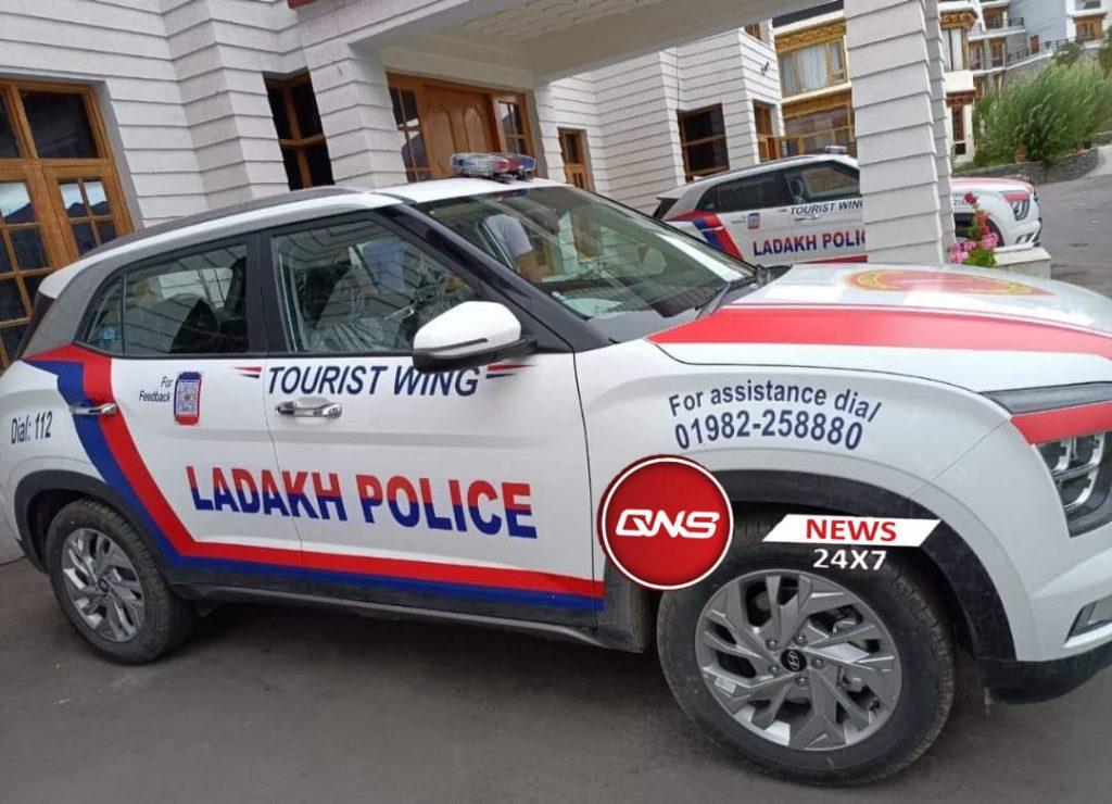latest hyundai creta police car ladakh