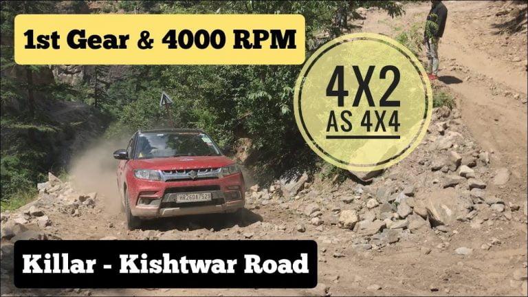 Watch Maruti Vitara Brezza Conquer World's Most Dangerous Road!