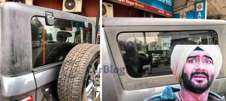 Owner of 2 Month Old Mahindra Thar Reports Fading of Hard Top Trim