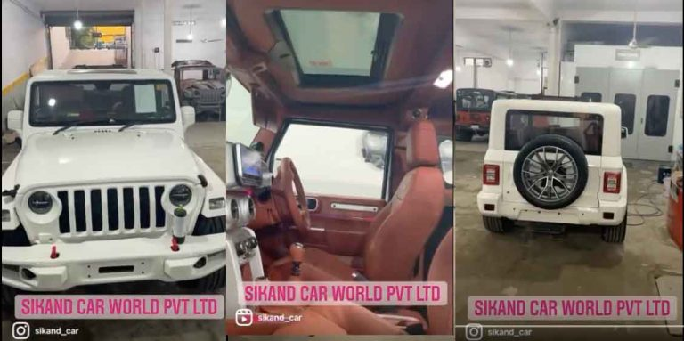 First-Ever Pure White New Mahindra Thar – THIS IS IT!