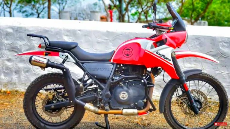 This Royal Enfield Himalayan Enduro Kit Makes For An Even Better Tourer