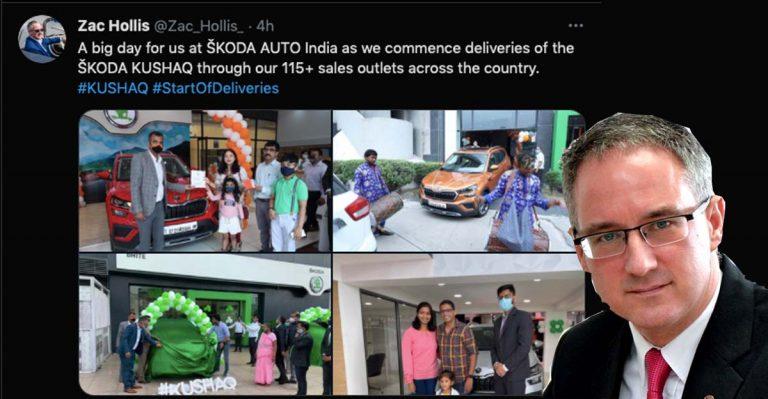 Skoda Kushaq Deliveries Commence- 1.5-litre Variant to Arrive Later