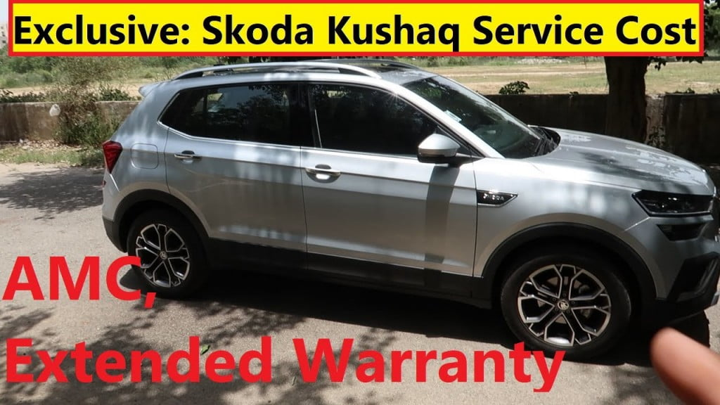 skoda kushaq side profile maintenance cost video