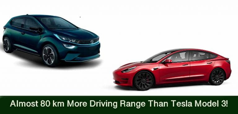 BREAKING: Tata Altroz EV to Offer More Range Than a Tesla!