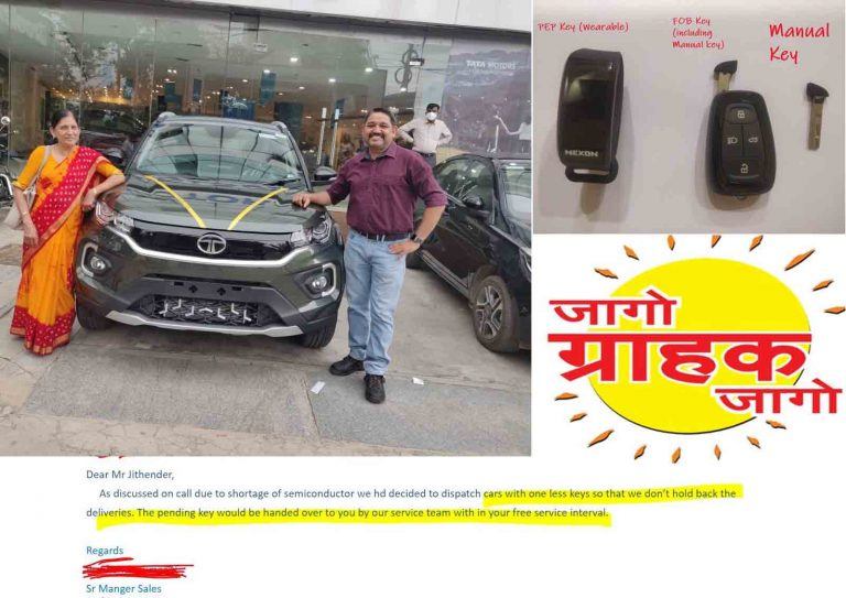 Tata Nexon Buyer Brings to Light Yet Another Dealer-level Scam!