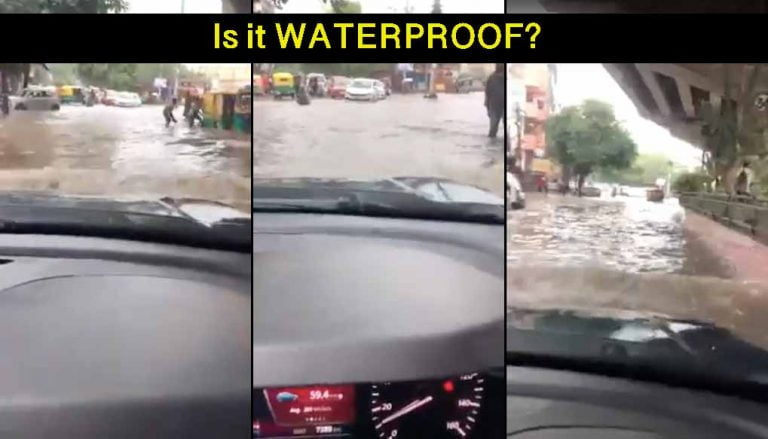 Watch Tata Nexon EV Wading Through Flooded Road in POV Video!