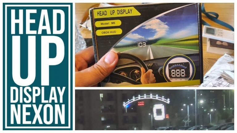 Here's a Tata Nexon With a Cool Aftermarket Heads Up Display