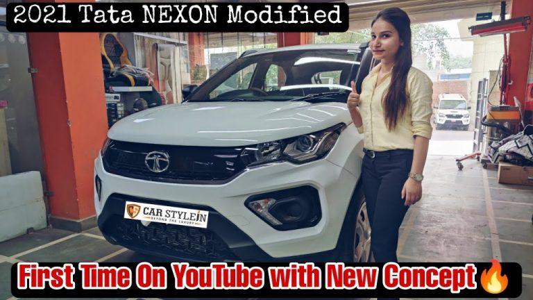 Tata Nexon XMA(S) Looks Premium With Modified Interior