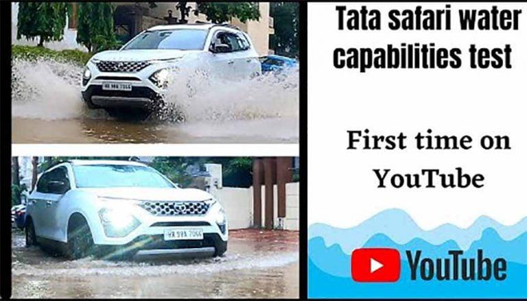 Can Tata Safari Tackle Flooded Roads of Gurgaon – Here's Answer