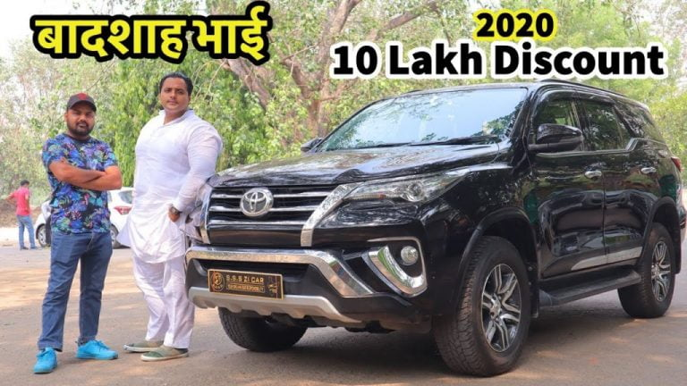 6,000 km Used Toyota Fortuner Available at Rs 10 Lakh Off Market Price!