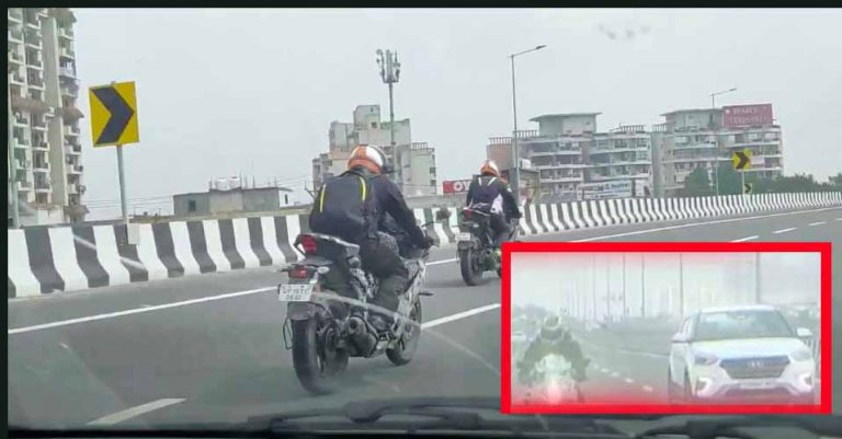 Yamaha R15 V4 Spotted with R7-like Projector Headlamps