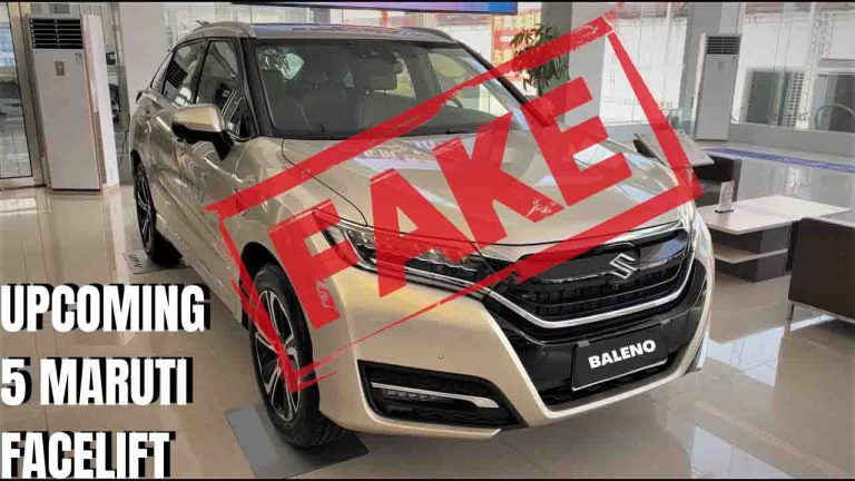 2021 Maruti Baleno Facelift to NOT Look Like This – Rumour Alert