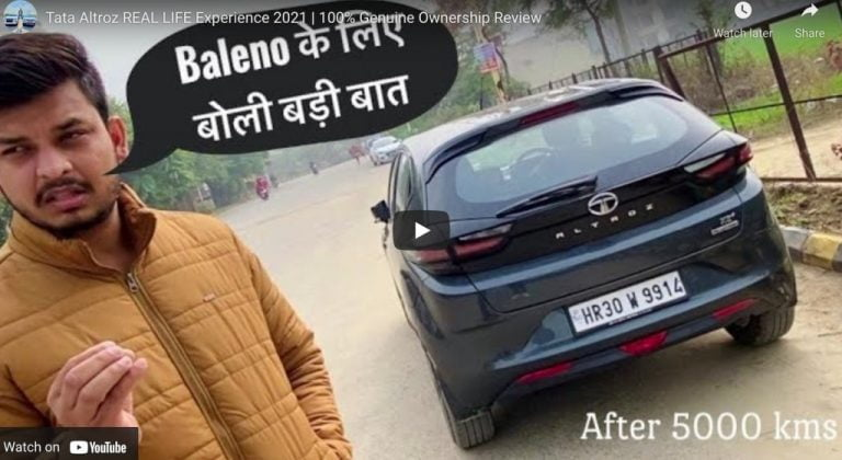 Here is a Genuine Tata Altroz Ownership Experience Review!
