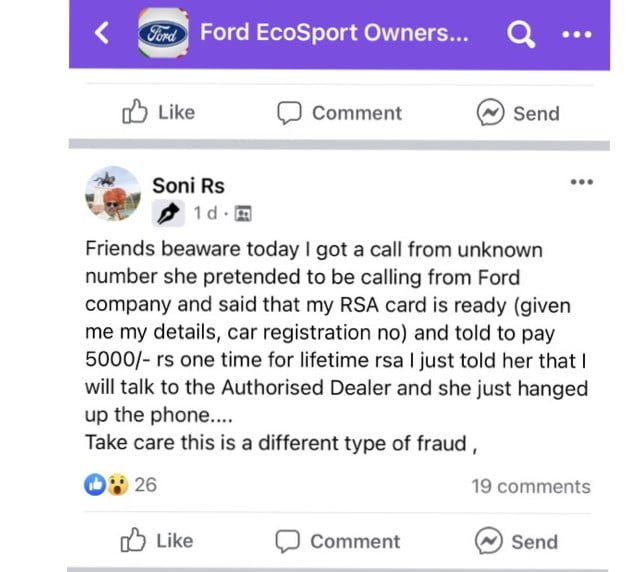 Ford Road Side Assistance