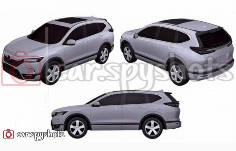 2022 Honda CR-V Patent Design Models Leaked – Details!