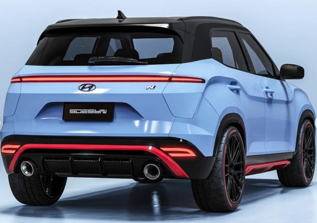 Hyundai Creta N Concept Rear