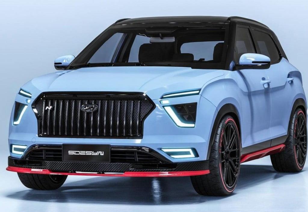 Hyundai Creta N Concept Front