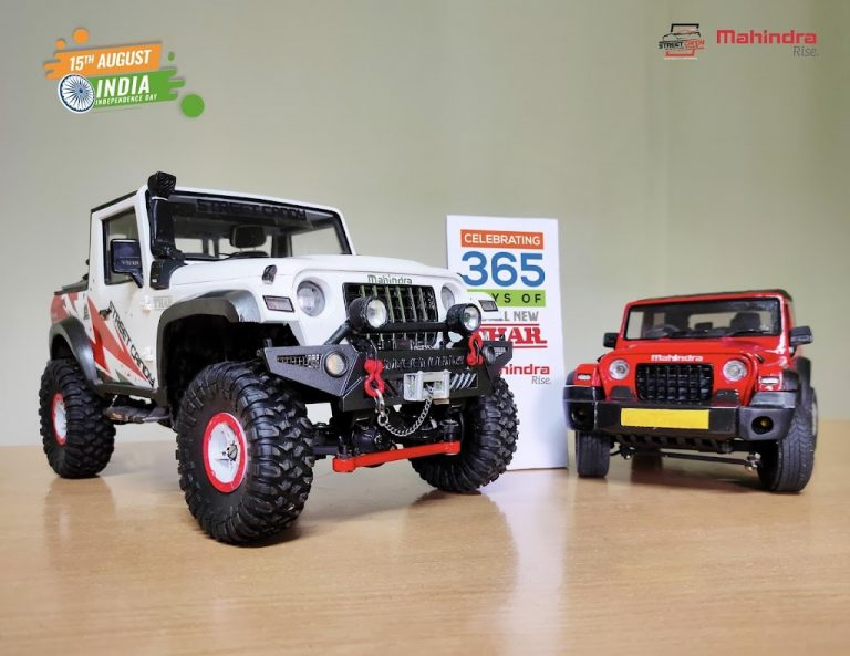 How About These Miniature Mahindra Thar SUVs?