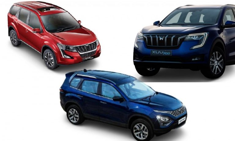 Mahindra XUV700 vs XUV500 vs Tata Safari – Which One's BIGGER?