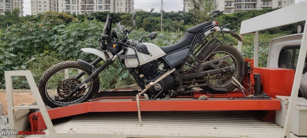 Royal Enfield Chassis Collapse