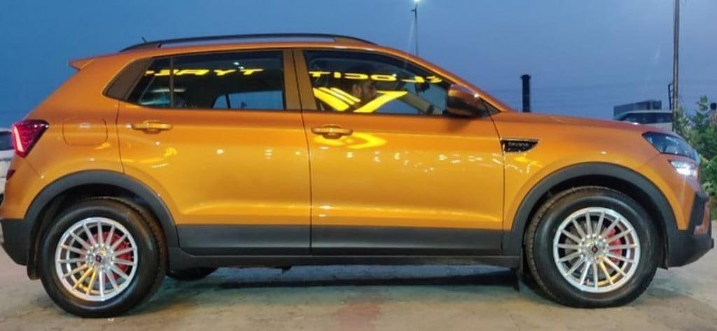 skoda kushaq 16 inch aftermarket alloy wheels